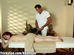 trickyspa hirsute readhead drilled by sly masseur