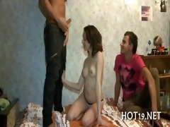 admirable group-sex with legal age teenager angel