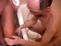 old grandad family sex with youthful daughter in