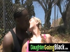 recent darksome stepdad punishes hawt daughter