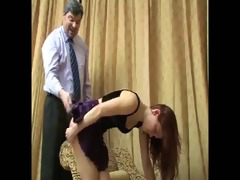 daughter+girlfriend are spanked 60
