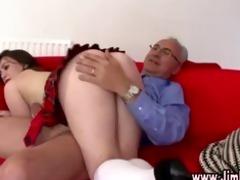 aged lad spanks naughty schoolgirl