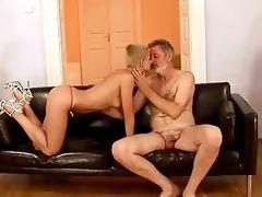 grandpapa bonks his youthful girlfriend