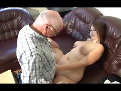 german older man makes juvenile beauty lustful