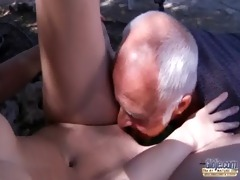 oldman have to pleasures sexually excited