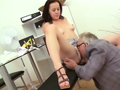 trio sex with teacher