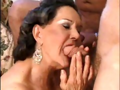 mature stud buys an old hooker for grandson,
