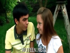 hawt angel acquires drilled in various positions