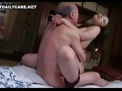 old and youthful oriental pair 7