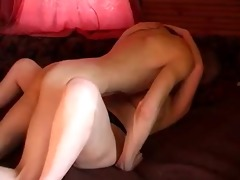 plump russian redhead with younger paramour