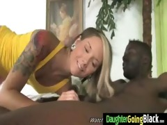 constricted young teen takes large dark pounder 79