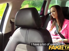 faketaxi college angel with large natural love