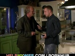 cuckolding surprise for juvenile wife