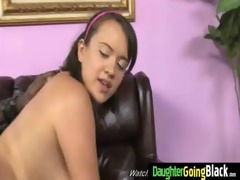 juvenile daughter with admirable wazoo screwed by