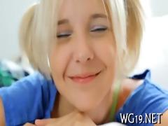 breasty hottie poses on web camera