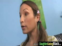 youthful daughter acquires pounded by big