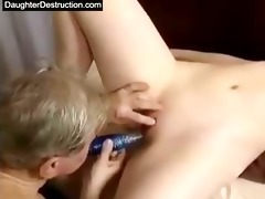 cut oriental daughter drilled fine