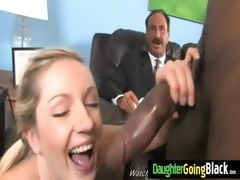 juvenile gal makes love with dark dude 6