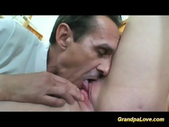 grand-dad fucking her student