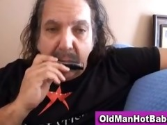 old lad oral by hawt younger playgirl