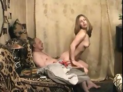 fucking with grand-dad 0