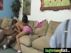 youthful daughter with good a-hole drilled by a