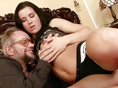 granddad enjoys wicked sex with marvelous legal