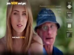youthful blond playgirl bonks hers grand-dad