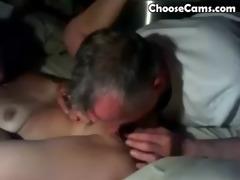grandpa giving grandma great blowjob sex