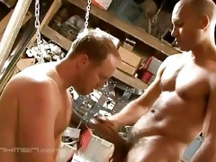 son drills daddy in the arse
