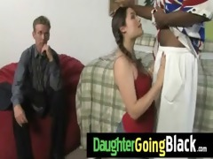 daughter fuck a biggest darksome ramrod 4