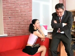 honey is engulfing teacher\s cock