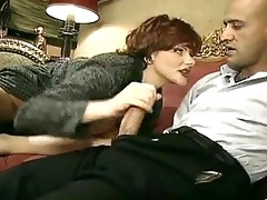 old amoral woman lures a younger stud into having