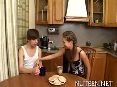 sweetheart strips her boyfriend