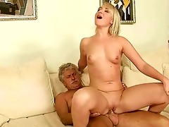 old chap copulates hawt youthful blond