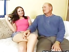 hailey youthful riding old dick